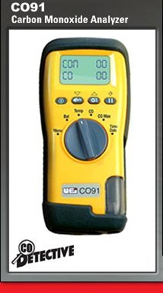 Carbon Monoxide meter UEi CO91