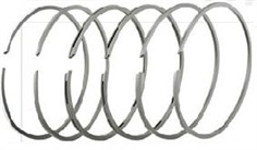 Piston rings for machinery