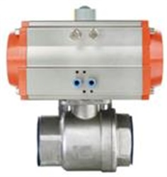 Pneumatic Inner Thread 2-pcs Ball Valve