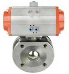 Pneumatic Thin Type Ball Valve