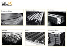 Round Bar / Deformed Bar / Flat Bar / Steel Shaft / Rails / Square Bar