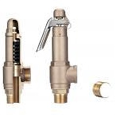 BRONZE SAFETY RELIEF VALVES