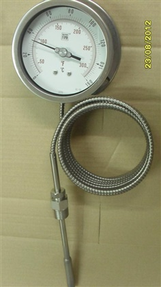 Thermometer Inert Gas-Filled