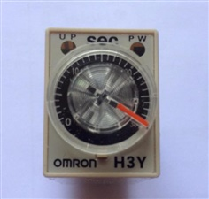 """Miniature Solid-state Timer  รุ่น H3Y-2   200-230 VAC  """"OMRON"""""""
