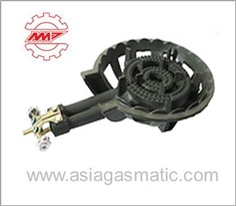 C30 Cast Iron Burner With Double Inlet Pipes