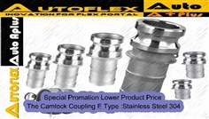 Camlock Coupling E Type :Stainless Steel304