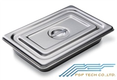 KKIN-STAINLESS TRAY WITH COVER