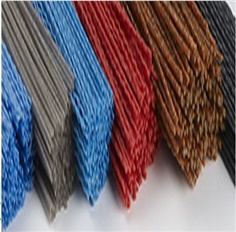 Ceramic abrasive filaments