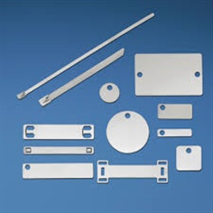 Stainless Steel Marker Plate, Marker Tie, Cable Marker, มาร์คเกอร์สแตนเลส, มาร์คเกอร์ไทร์สแตนเลส, เคเบิ้ลมาร์คเกอร์