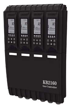 KB2160 Single Channel Gas Control Panel with Gas Detector
