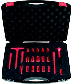 Insulated socket wrench set
