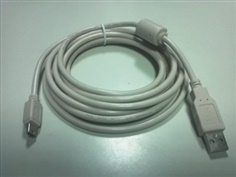 PROFACE HMI Cable - USB Type A to Mini B รุ่น ZC9USCBMB1