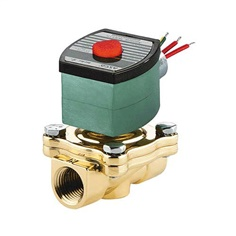 """Asco""3/8"" Normally Closed Solenoid Valve (12VDC)"
