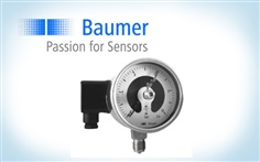 BAUMER Mechanical pressure guage: MS5/MR5