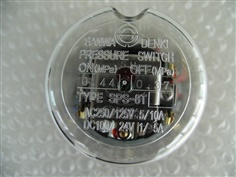 SANWA DENKI Pressure Switch SPS-8T-C, ON0.44MPa, OFF0.37MPa, Rc3/8, ZDC