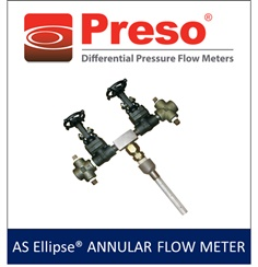 AS Ellipse Annular Flow Meter