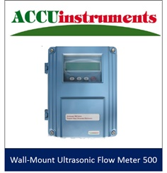 Wall Mount Ultrasonic Flow Meter