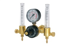 """HARRIS"" Regulator 821D-30F Double Flow Meter"