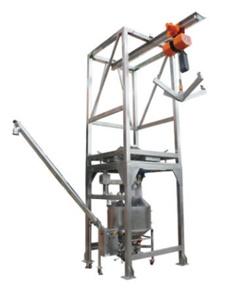 ระบบโหลด Bulk Bag Unloader and Auger Conveyor