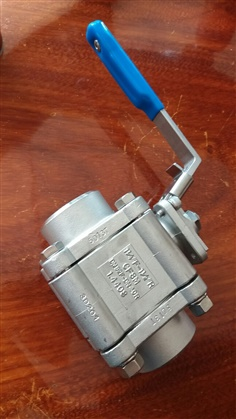 3PC BALL VALVE HIGHPERFORMANCE