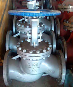 Cast Steel Globe Valve, PN25, DN250, Flanged Ends