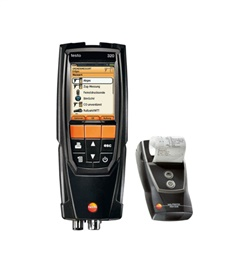 testo 320 - Combustion analyzer kit with printer