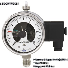 Pressure Gauge Switch.(Wika) PGS23