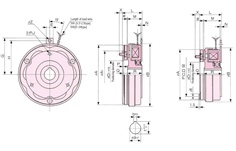 SINFONIA Electromagnetic Clutch NC-T Series