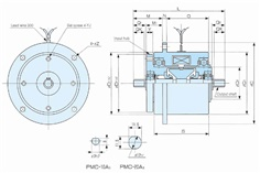 SINFONIA Particle Clutch PMC Series