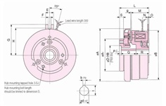 SINFONIA Electromagnetic Clutch JC Series