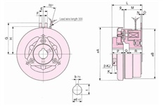 SINFONIA Electromagnetic Clutch JCC Series