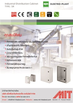 Industrial Distribution Cabinet