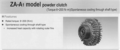MITSUBISHI Powder Clutch ZA-A1 Series