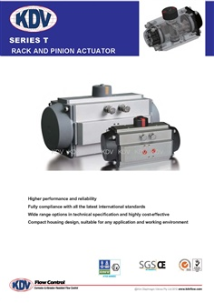 Pneumatic actuator and Spring return pneumatic actuator