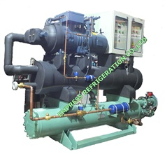Package air water cooled chiller