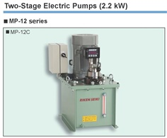 RIKEN Two-Stage Electric Pumps MP-12 Series