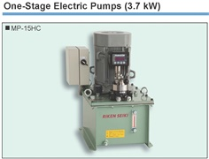 RIKEN One-Stage Electric Pumps MP-15H Series