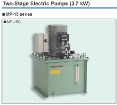 RIKEN Two-Stage Electric Pumps MP-15 Series