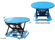Round Lift Table