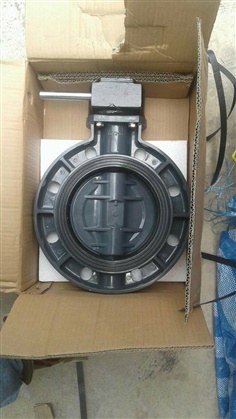 UPVC Butterfly valve Gear