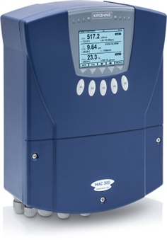 Liquid analytical transmitter for measurements with OPTISENS TSS, pH/ORP and COND sensors