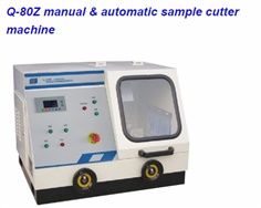 Q-80Z manual & automatic sample cutter machine