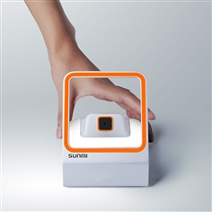 SUNMI Blink เครื่ออ่าน QR code แบบตั้งโต๊ะ รองรับ OS Windows iOS Android Linux Barcode scanner market with good and bad mixed up Cashier desktop without any sense of beauty