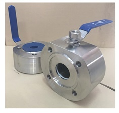 "GKN BALL VALVE WAFER TYPE  BODY :  SUS 316  FLANGE :  PN40  SIZE : 1/2"",1-1/4"",1-1/2"",2"