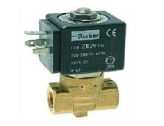 Parker 221G 2/2 General application valve for dry or lubricated air, neutral gases and liquids