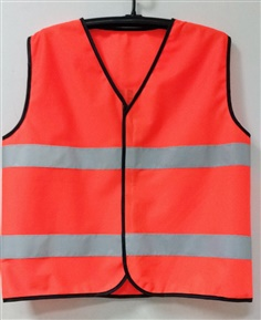 Safety Vest with Logo Screen