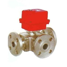 Ball Valve with Electric Actuator