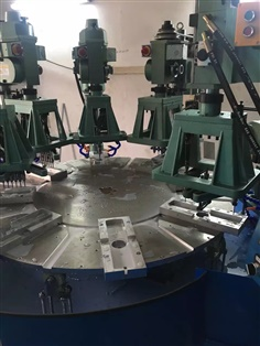 Rotary station drilling tapping machine