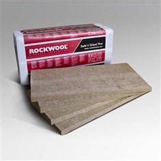 ร็อควูลฉนวนกันความร้อนเก็บเสียง ลดอุณหภูมิแบบแผ่น Rock Wool Safe Silent PRO 330  สำหรับงานผนัง,ฝ้า,เพดาน