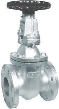 JIS lOK Iron Gate Valve (Outside Screw)